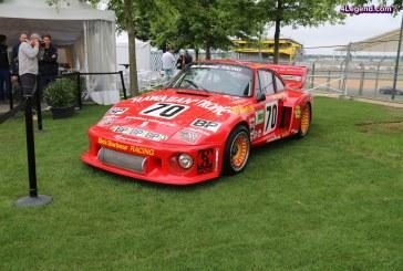 Le Mans Classic 2016 – Porsche 935 pilotée par Paul Newman aux 24 Heures du Mans 1979