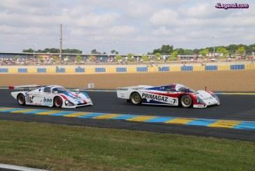 Le Mans Classic 2016 – Les voitures du Group C font le show avec des Porsche 962 et  962 C