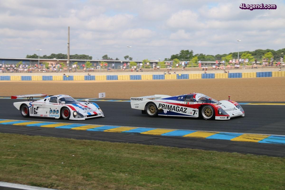 Le Mans Classic 2016 - Les voitures du Group C font le show avec des Porsche 962 et  962 C