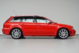 Une Audi RS 4 Avant B5 de 2001 quasi neuve à vendre avec seulement 189 km