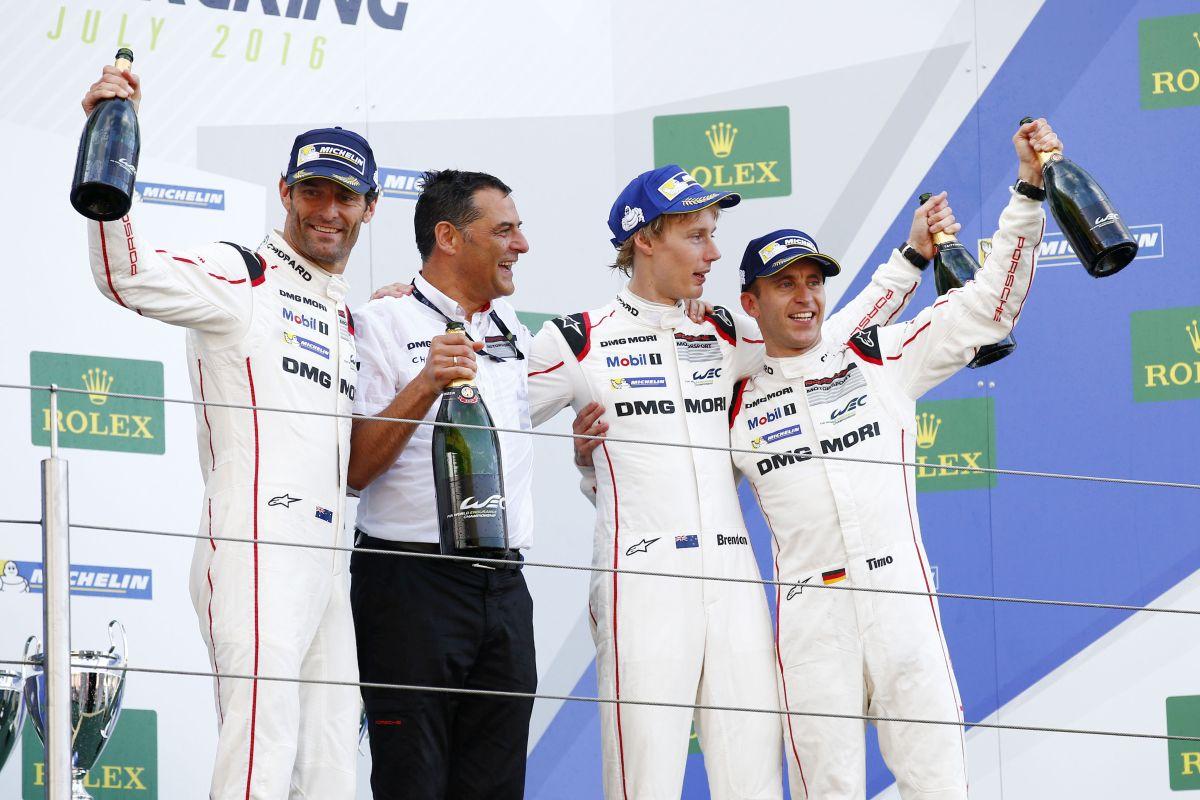 WEC - Porsche remporte une nouvelle fois les 6 Heures du Nürburgring devant Audi