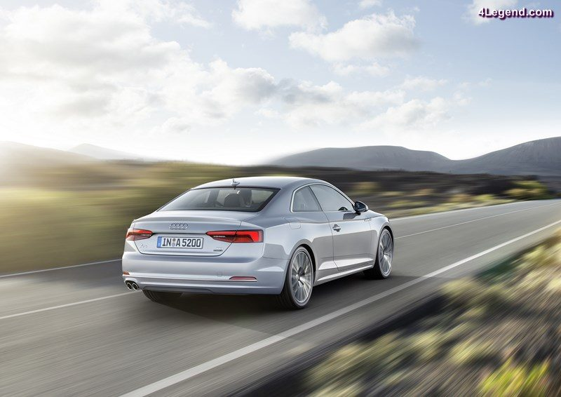 In the first half of 2016 Audi achieved growth in car deliveries and robust key financials. Photo: Audi A5 Coupé