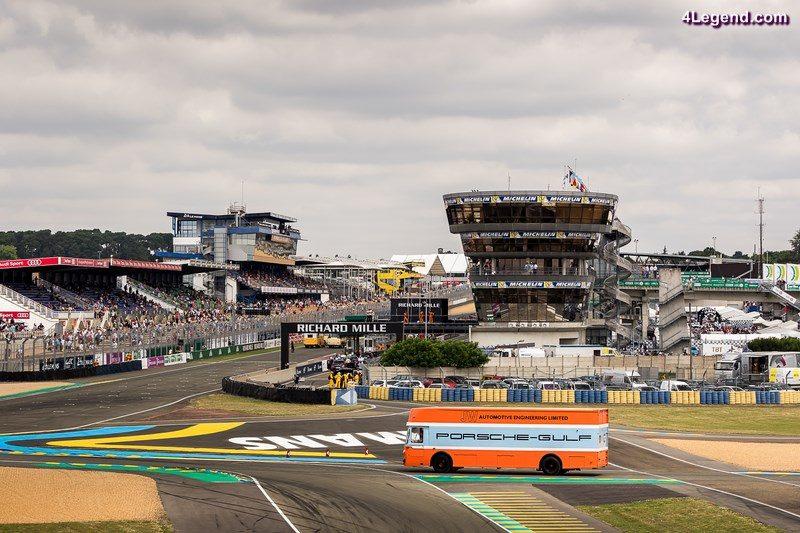 Ambiance pendant Le Mans Classic, du 7 au 10 juillet 2016 - Photo: Alexis Goure (Porsche)