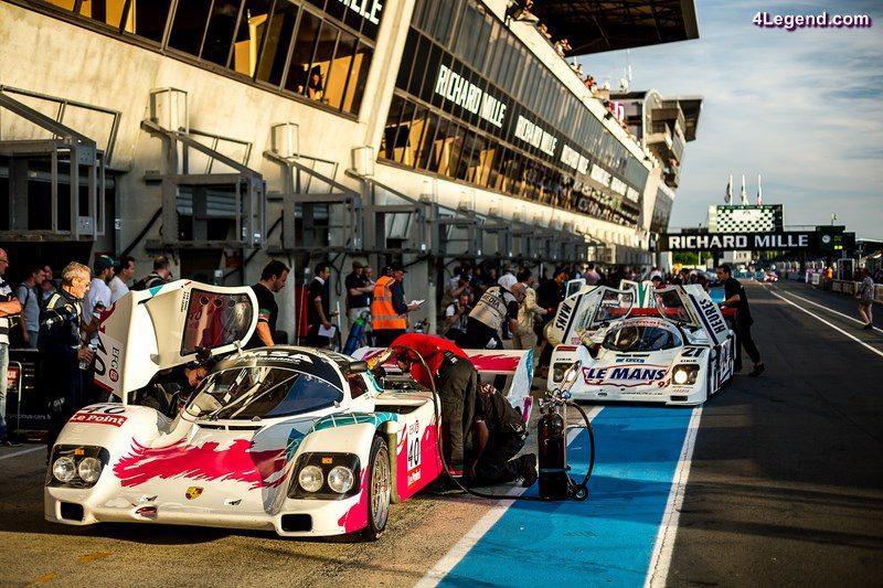 Group C pendant Le Mans Classic, du 7 au 10 juillet 2016 - Photo: Alexis Goure (Porsche)