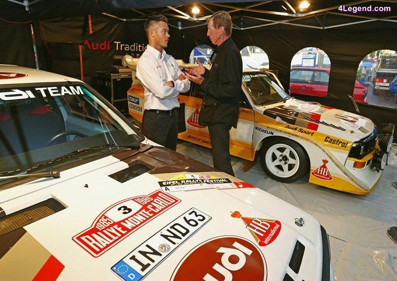 André Lotterer, Walter Röhrl, Eifel Rallye Festival