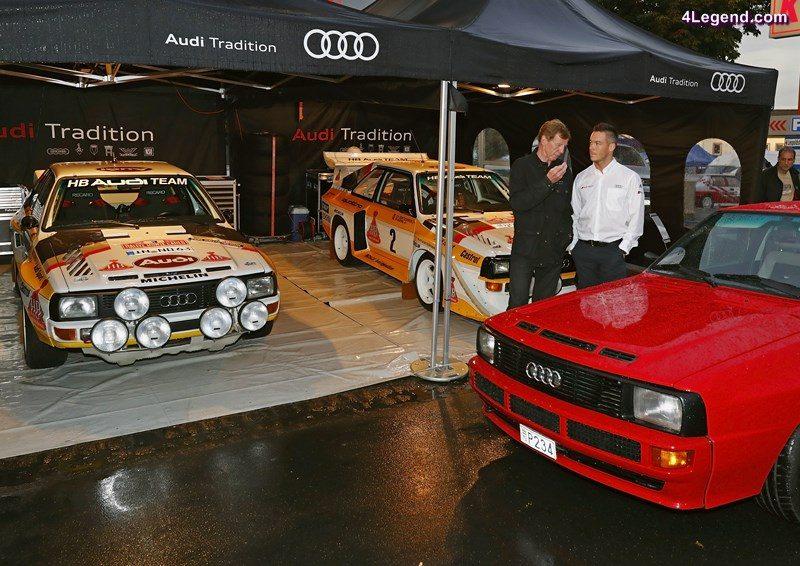 Walter Röhrl, André Lotterer, Eifel Rallye Festival