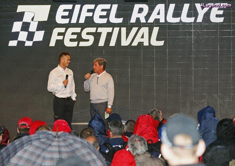 André Lotterer, Christian Geistdörfer, Eifel Rallye Festival