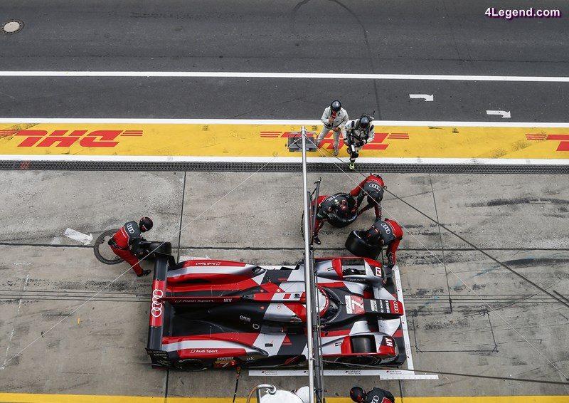 Audi R18 (2016) #7 (Audi Sport Team Joest), Marcel Fässler, André Lotterer