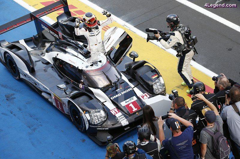 Porsche 919 Hybrid, Porsche Team: Timo Bernhard