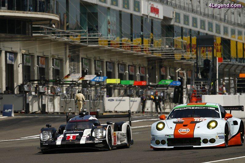 Porsche 919 Hybrid, Porsche Team: Romain Dumas, Neel Jani, Marc LiebPorsche 919 Hybrid, Porsche Team: Timo Bernhard, Brendon Hartley, Mark Webber