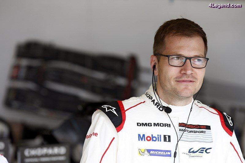 Andreas Seidl, Teamchef Porsche Team