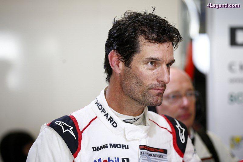 Porsche Team: Mark Webber,