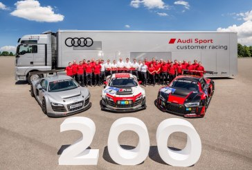 Production de la 200e Audi R8 LMS à Neckarsulm