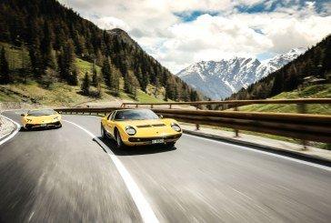 50 ans de la Lamborghini Miura – De nombreuses célébrations ont eu lieu notamment en Italie