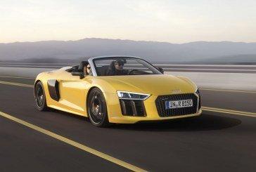 Ouverture des commandes de l'Audi R8 Spyder