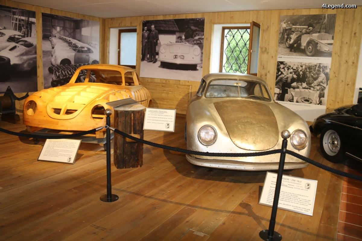 Visite du musée Porsche Automuseum Helmut Pfeifhofer à Gmünd - 1ère partie