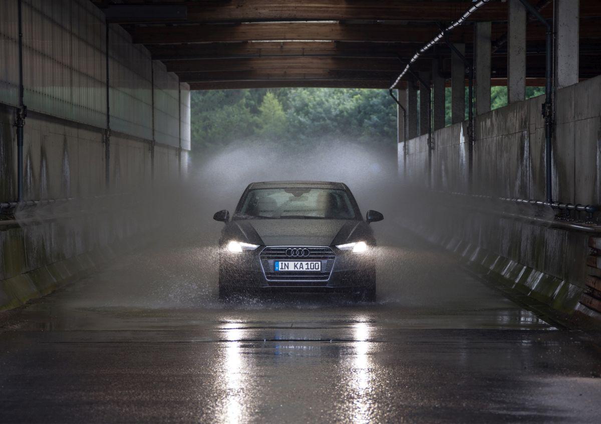 100e test INKA d'assurance qualité Audi sur l'Audi A4 B9 - La vie d'une voiture en accéléré