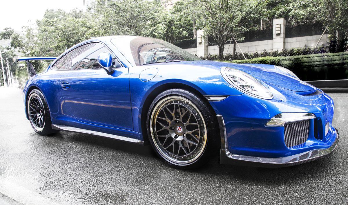 DMC Porsche 991 GT3 RS - Un pack aérodynamique sportif
