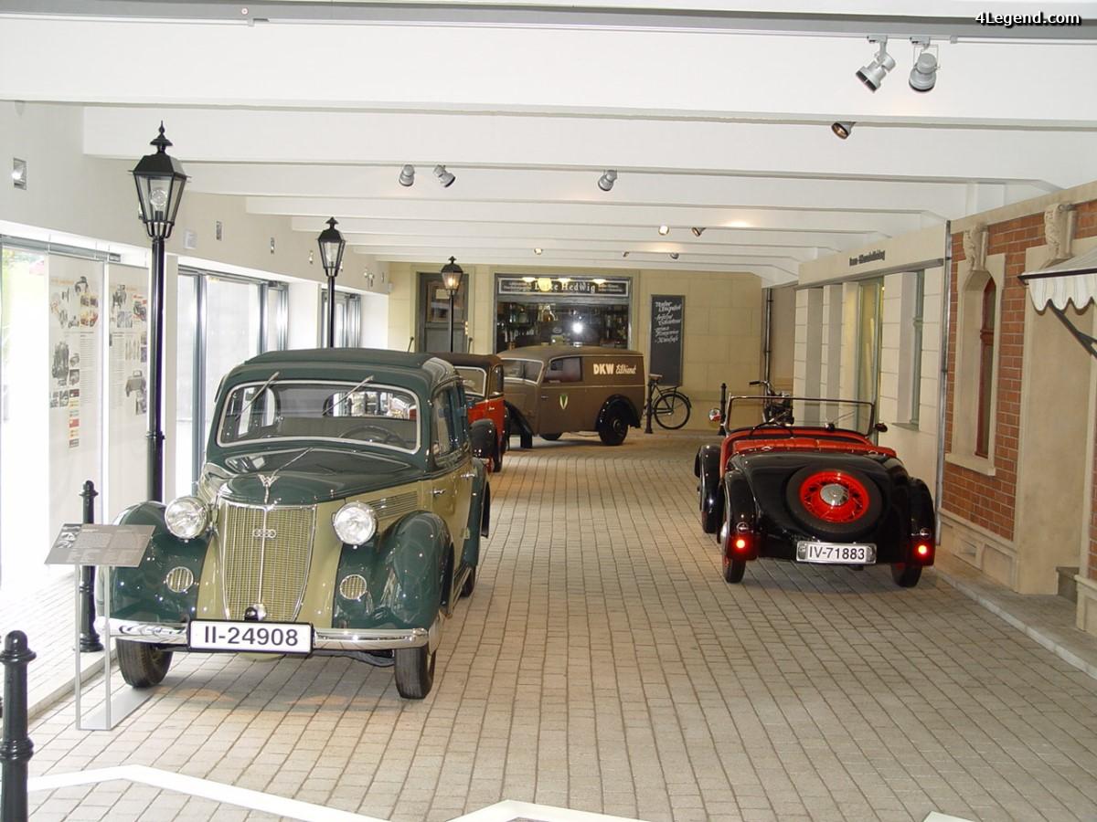 Visite du Musée August Horch à Zwickau - Les voitures de l'ex RDA - 2ème Partie