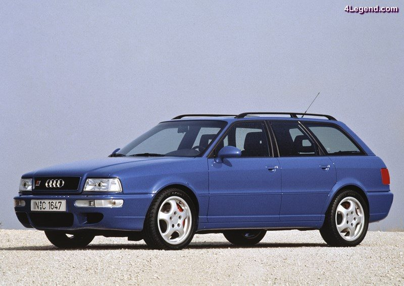 1994: first five-cylinder RS engine: In 1994, the most powerful five-cylinder production engine built by Audi to date goes into action in the Audi Avant RS 2 (B4). With turbocharging, fuel injection and standard-fit emissions control, it produces 232 kW (315 hp) at 6,500 revolutions per minute from a displacement of 2,226 cc and delivers 410 newton meters (302.40 lb-ft) of torque at 3,000 rpm.