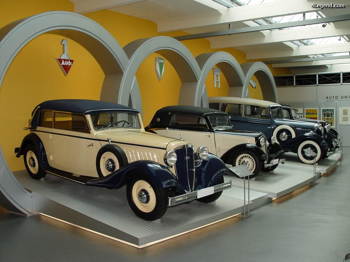 Visite du Musée August Horch à Zwickau - A la découverte des origines d'Audi - 1ère Partie