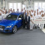 Un million d'Audi Q5 produits à Ingolstadt – Un modèle à succès