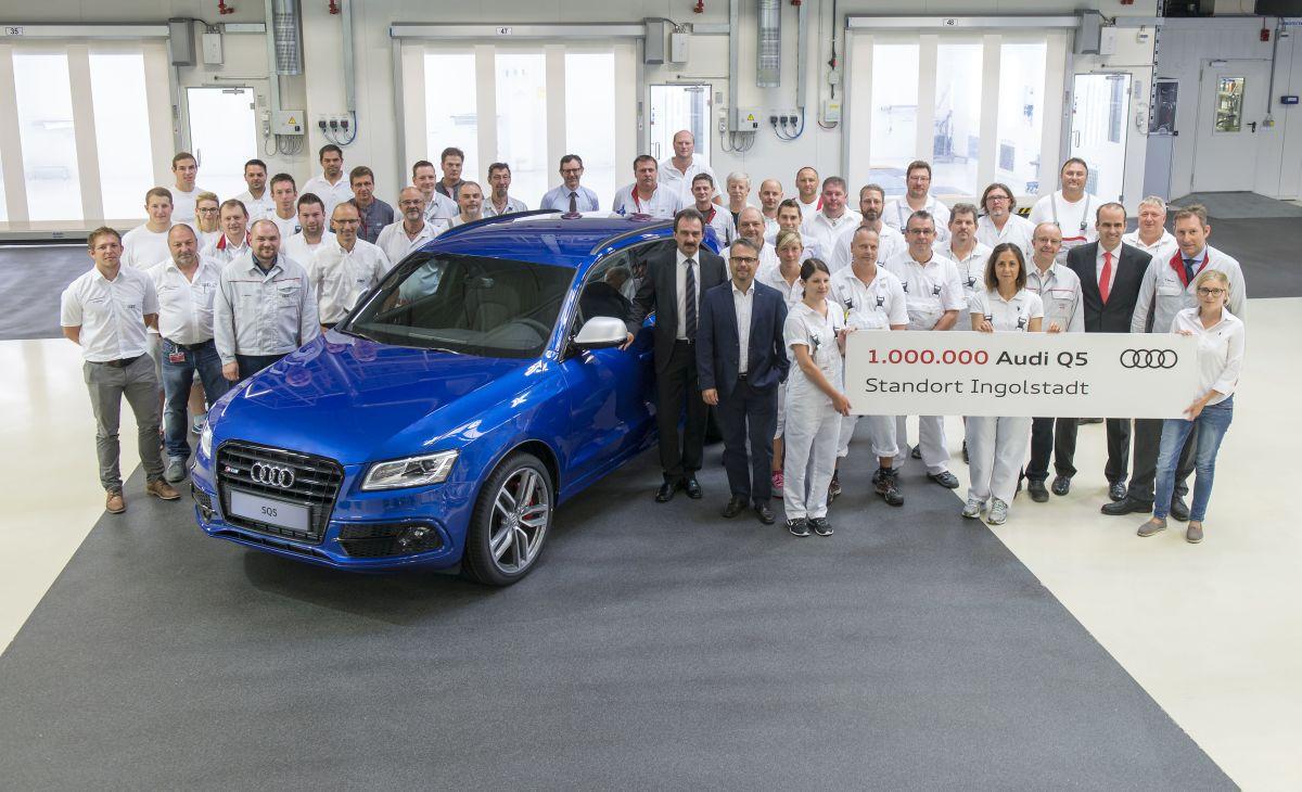 Un million d'Audi Q5 produits à Ingolstadt - Un modèle à succès