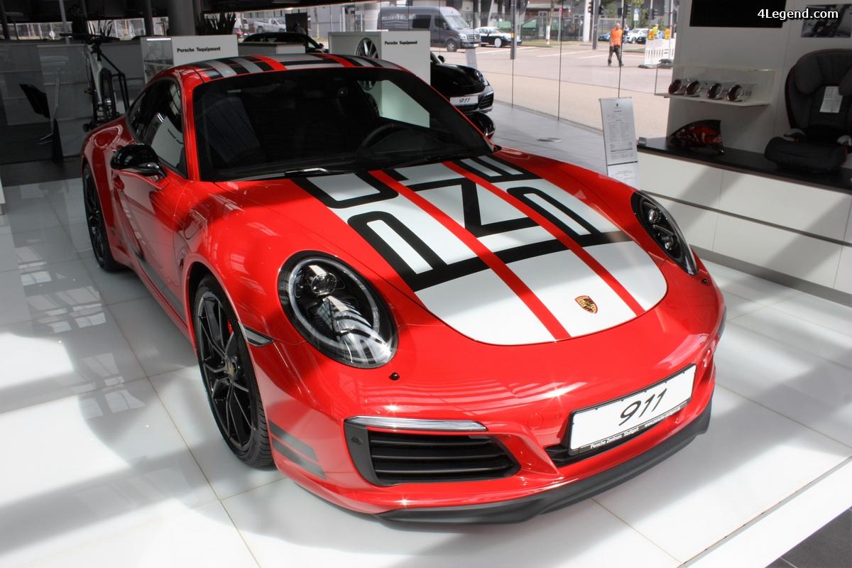 Porsche 991 Carrera S Endurance Racing Edition rouge Indisch