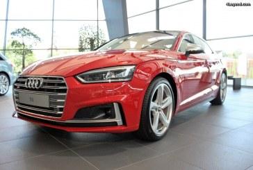 La nouvelle Audi S5 s'expose à Neckarsulm