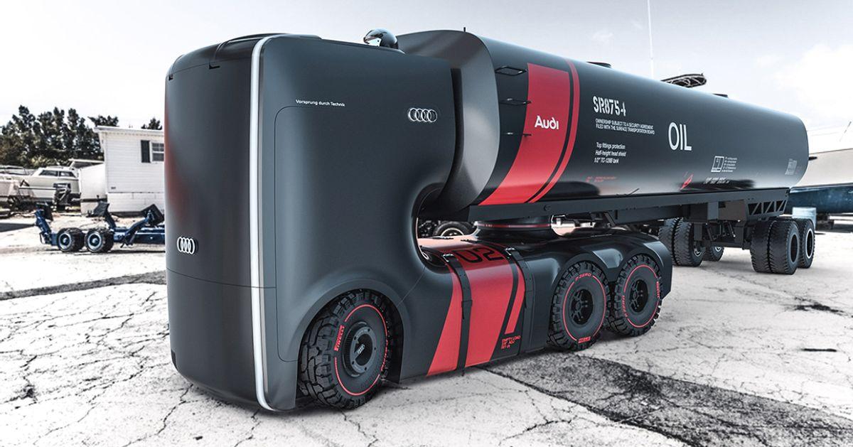Audi Truck e-tron - Des études de camions électriques et autonomes
