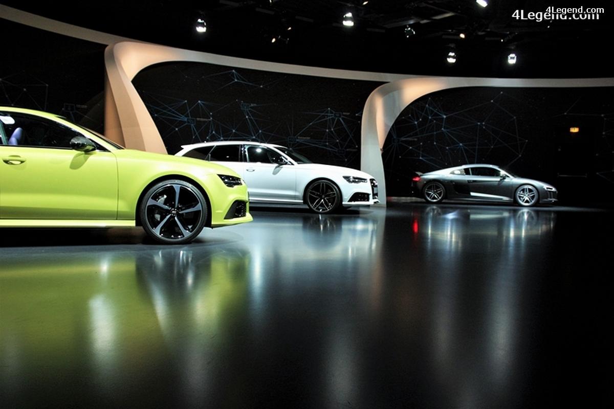 Visite de l'Autostadt partie 1: pavillon Audi