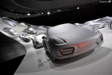 Visite de l'Autostadt partie 4: pavillon Porsche