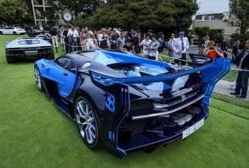 Première américaine de la Bugatti Vision Gran Turismo au Pebble Beach Concours d'Élegance