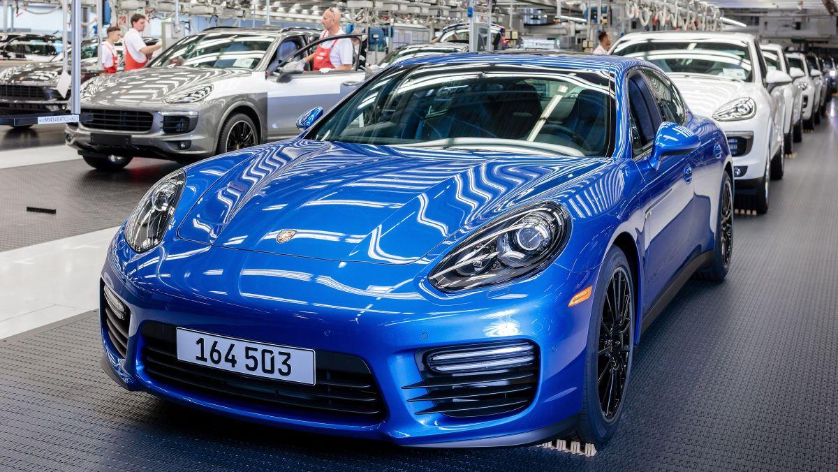 Fin de production de la Porsche Panamera de première génération