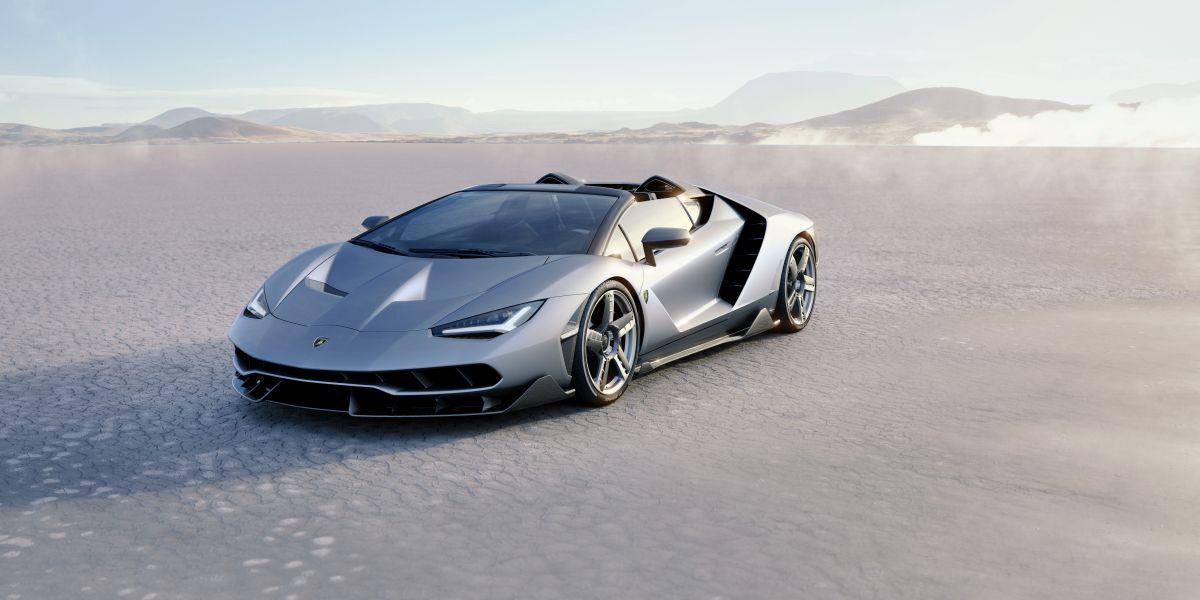 Lamborghini Centenario Roadster - Dévoilée au Quail en Californie