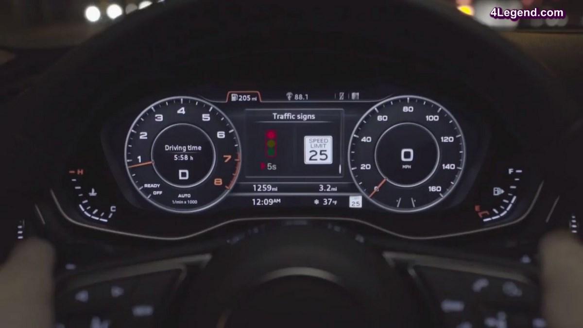 Lancement du service Audi Vehicle to Infrastructure (V2I) - le nouveau système d'information des feux de circulation