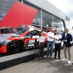 Livraison de la 200e Audi R8 LMS aux 24 Heures de Spa à l'équipe «Montaplast by Land-Motorsport»