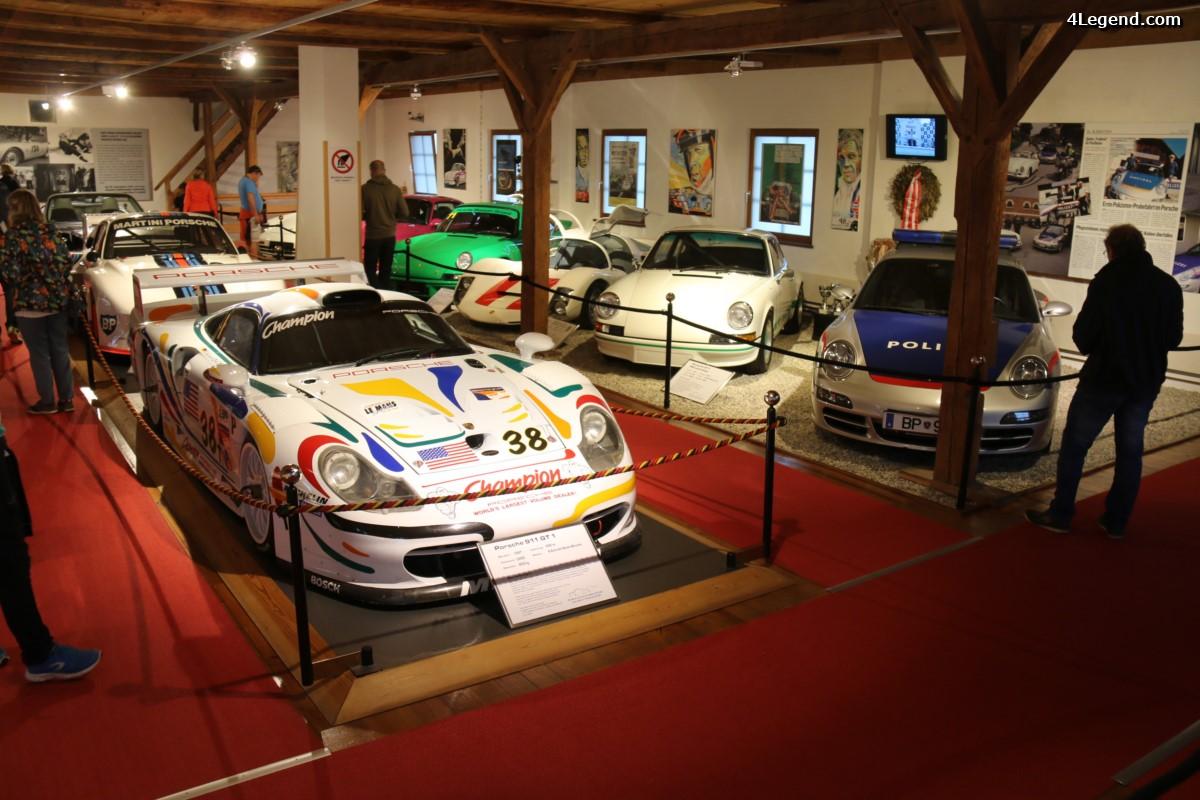 Visite du musée Porsche Automuseum Helmut Pfeifhofer à Gmünd - 2ème partie