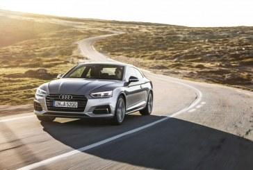 Ouverture des commandes de l'Audi A5 Coupé