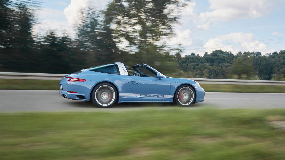Porsche 911 Targa 4S Exclusive Design Edition - Une nouvelle série limitée