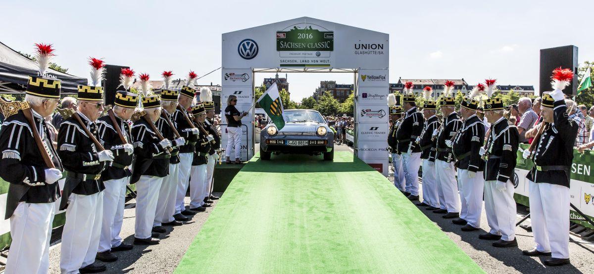 Porsche a engagé 3 voitures au Sachsen Classic 2016 - De Zwickau à Chemnitz