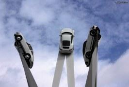 Porsche Museum: sculpture de Gerry Judah.