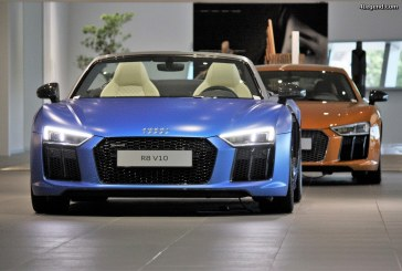 Audi R8 Spyder et Coupé Audi exclusive.