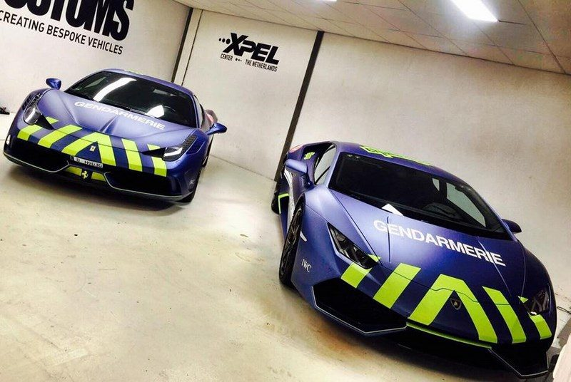 St Tropez Car Racing