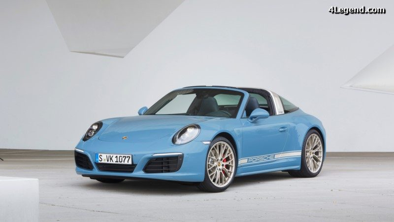 Porsche 911 Targa 4S Exclusive Design Edition 2016 (officiel)