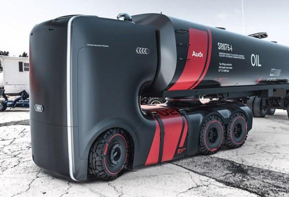 Audi Truck e-tron – Des études de camions électriques et autonomes