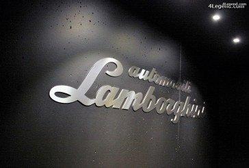 Visite de l'Autostadt partie 2: pavillon Lamborghini.
