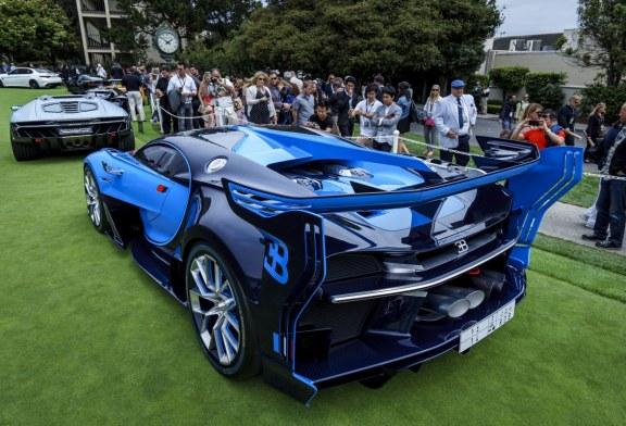 Bugatti Veyron Going Back To The Future Art Promo: Première Américaine De La Bugatti Vision Gran Turismo Au