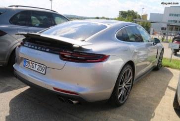Porsche Panamera Turbo – Comparaison des ailerons des 2 générations