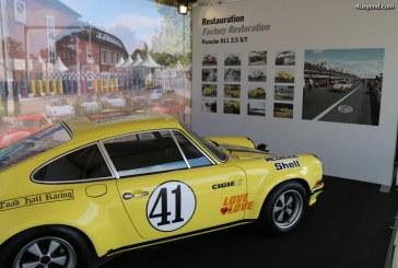 Le Mans Classic 2016 – Porsche 911 2.5 S/T ayant gagné aux 24 Heures du Mans 1972